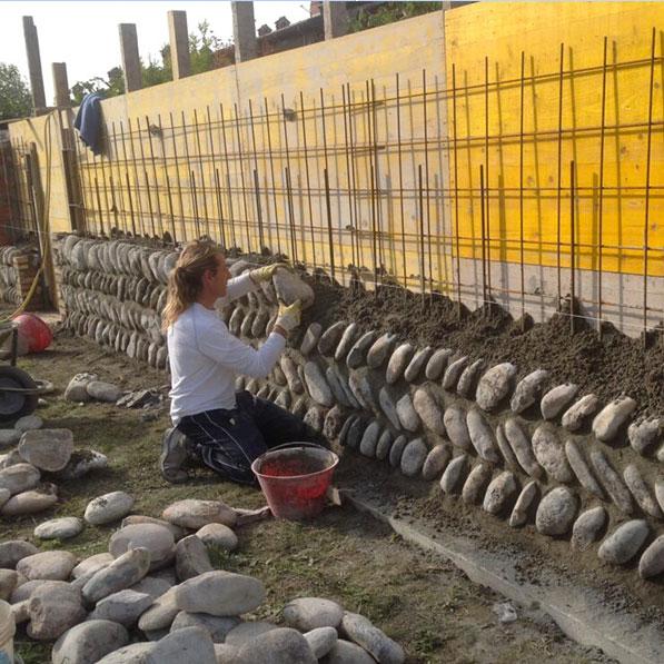 Fornitura e posa pietra naturale